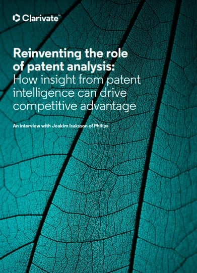 Reinventing the role of patent analysis
