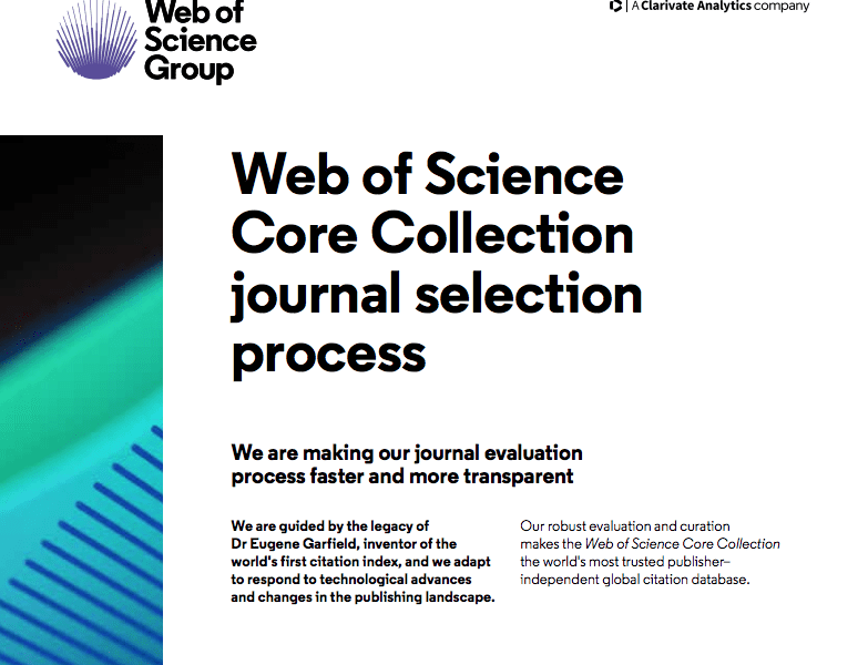 Web of Science Core Collection - Web of Science Group
