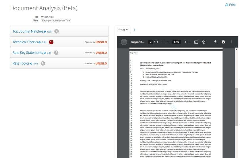 Doc Analysis Example