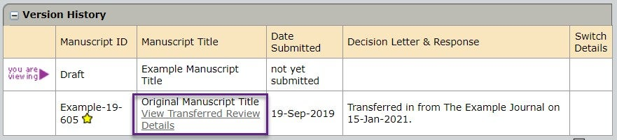 View_Transferred_Review_Details